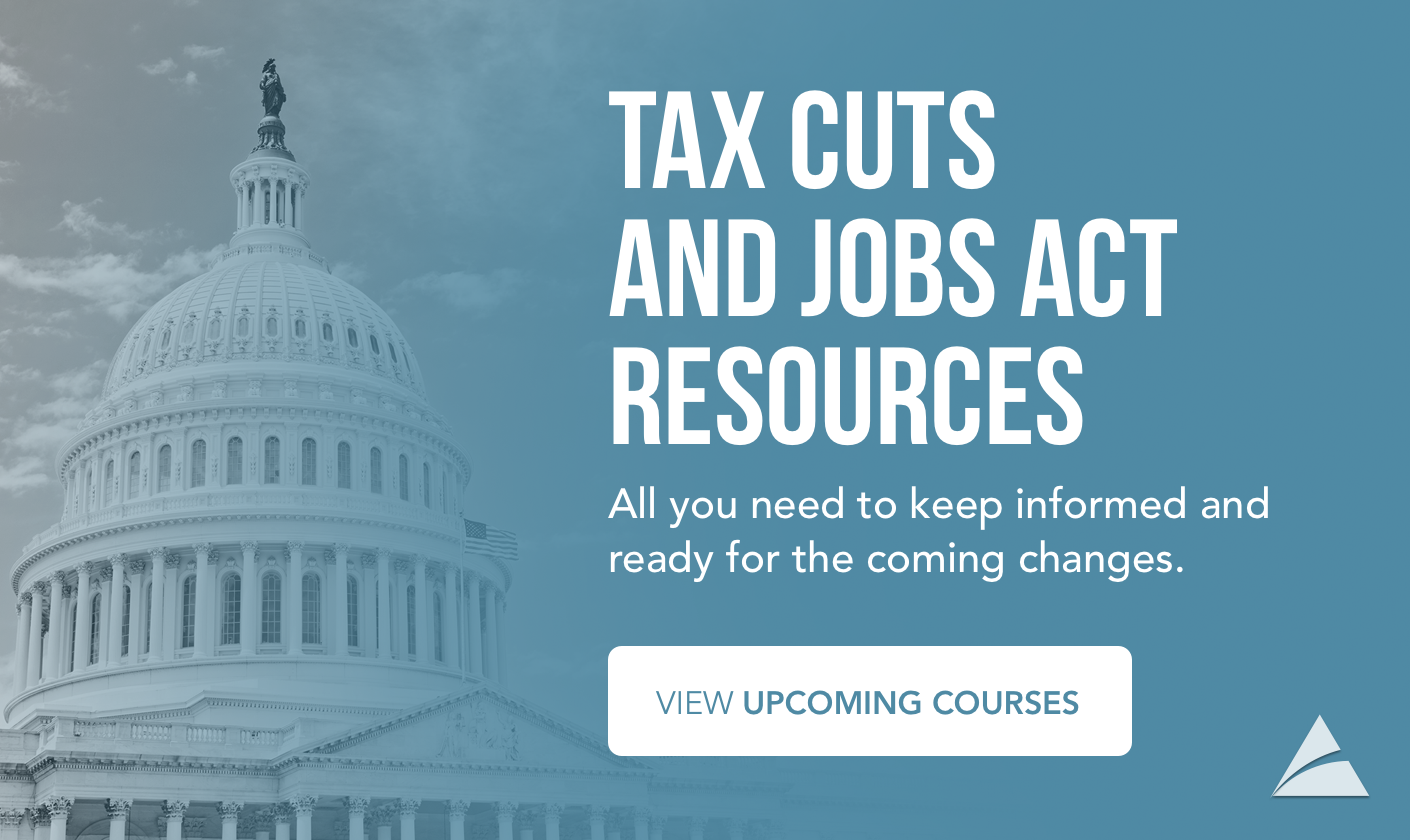 COCPA Tax Reform Training