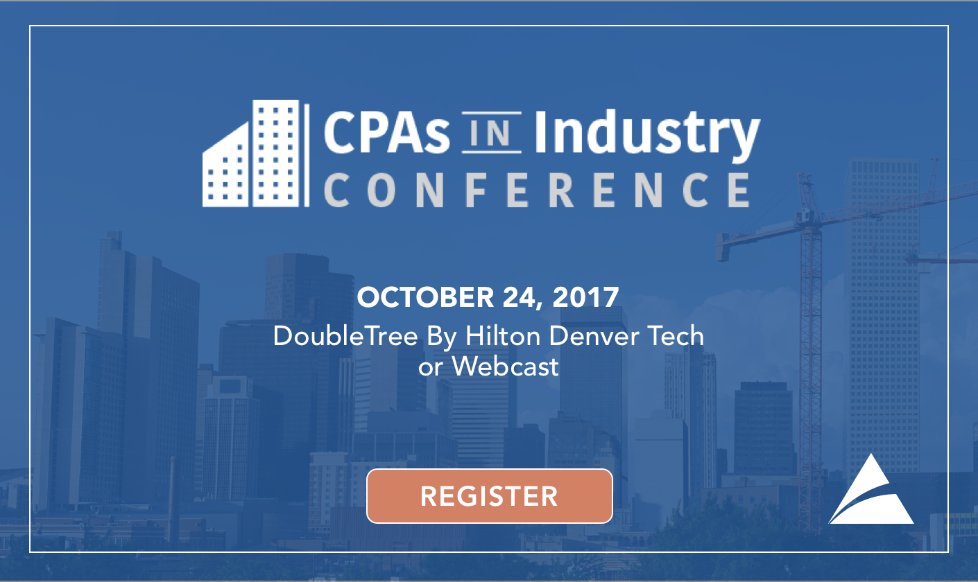 CPAs In Industry Conference