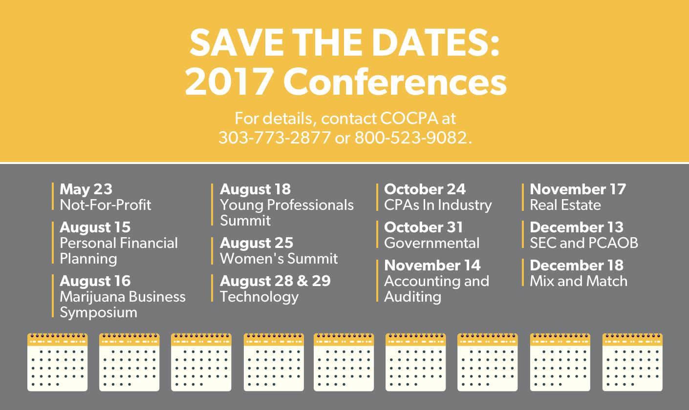 COCPA 2017 Conferences