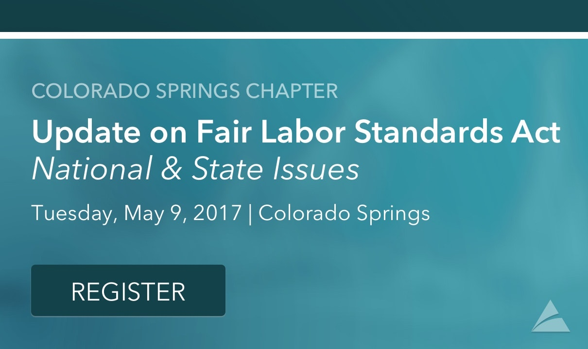 Colorado Springs Chapter Monthly Meeting